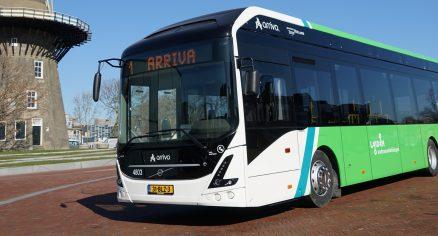 Parttime buschauffeur Arriva Leiden